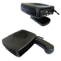 Camping & Camping-Car Ventilateur avec chauffage ceramique sur prise Allume-Cigare - 24V