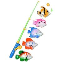 Canne A Peche AQUATICA Kit Jeu de Peche Enfant Gm