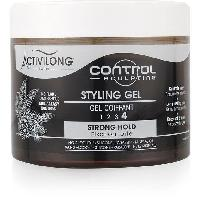 Capillaire Activilong Control Sculpting Gel Coiffant Force 4 Fixation Forte Ricin et Proteines de Ble 300 ml - Ace Delicat