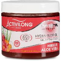 Capillaire Activilong Natural Touch Gel Hydra Gloss Effet Mouille Hibiscus Aloe Vera 200 ml - Ace Delicat