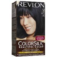 Capillaire COLORSILK Coloration No12 - Noir bleute naturel - 59.1 ml - Aucune