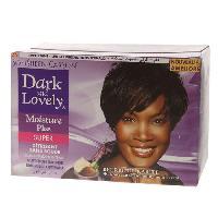 Capillaire DARK et LOVELY Kit Defrisant sans Soude Soin Hydratant Moyen - Beurre de Karite - 359ml