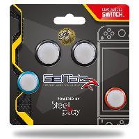 Capuchon Stick Manette Pack de 4 Grips Geltabz pour Stick pour manettes Switch - Steelplay