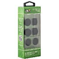 Capuchon Stick Manette Pack de 6 bouchons de protection- Compatible XBox 360XBox ONE - Noir