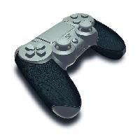 Capuchon Stick Manette Paire de grips noirs pour Manette PS4 - Steelplay