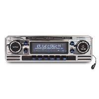Car Audio Autoradio RCD120BT CD USB Bluetooth Caliber