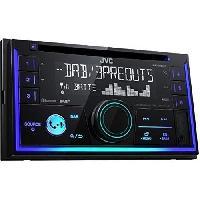 Car Audio JVC Autoradio 2DIN Bluetooth DAB+ KW-DB93BT