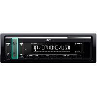 Car Audio JVC Autoradio Bluetooth - USB - Iphone KD-X361BT