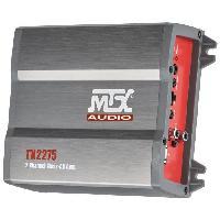 Car Audio MTX Amplificateur TX2275 2 x 110 W Rms @2O ou 1 x 220 W Rms @4O Classe-AB Filtre Actif Variable Entrées Haut Niveau