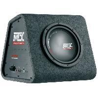 Car Audio MTX Caisson Amplifié RTP8 Classe-D avec Subwoofer Ø20 cm 120 W RMS