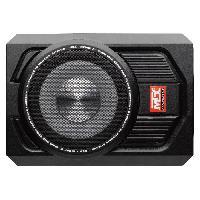 Car Audio MTX Caisson de grave extra plat RTU8P - 20 cm - 150W - Caisson actif amplifié