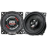 Car Audio MTX Haut-parleurs Coaxiaux 2 Voies T6C402 Ø10 cm 4O 45 W RMS