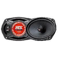 Car Audio MTX Haut-parleurs coaxiaux 2 voies TX469C - 6x9 - 100W