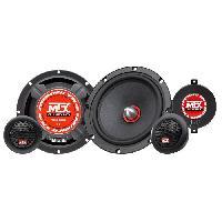 Car Audio MTX Haut-parleurs kit 2 voies TX465S - 16.5 cm - 80W
