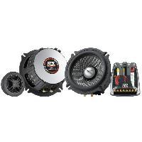 Car Audio MTX Kit 2 Voies T8502 Ø13 cm 4O 120 W RMS avec Châssis Aluminium