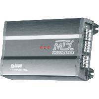 Car Audio MTX TX480D Amplificateur 12V 4 Canaux Classe-D 4x80W RMS en Aluminium