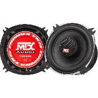 Car Audio MTX TX640C Haut-parleurs coaxiaux 10cm 2 voies 70W RMS 4O châssis alu tweeter néodyme dôme soie bobine TSV TIL.