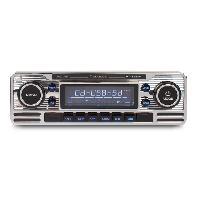Car Audio RCD120 - Autoradio CD-USB-SD avec tuner FM et Entree auxiliaire Caliber