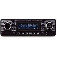 Car Audio RCD120B - Autoradio CD-MP3-USB-SD Caliber