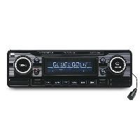 Car Audio RCD120BTB Autoradio CD USB SD FM et Bluetooth Caliber