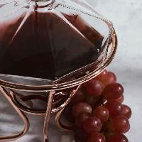 Carafe A Decanter - Carafe A Vin - Aerateur De Vin THUMBS UP Diamond Carafe et support - Aucune