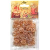 Caramels - Pastilles Bonbon Fourre Miel 200g Sachet fond plat