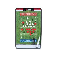 Carnet - Plaquette - Tableau De Coaching - Tactique PURE2IMPROVE Coachboard Football americain - VertBlanc