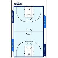 Carnet - Plaquette - Tableau De Coaching - Tactique SPALDING Dispositif de jeu
