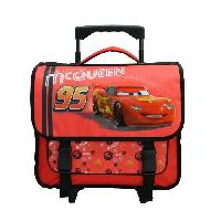 Cartable CARS Cartable a Roulettes Ce1/Ce2 - Generique