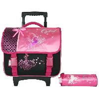 Cartable CYBEL Cartable a Roulettes 38 cm + Trousses