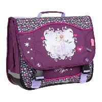 Cartable KID'ABORD BELLA SARA Cartable - 2 Compartiments - 38 cm - Violet - Primaire - Enfant Fille