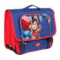 Cartable KID'ABORD DCC COMICS Cartable - 2 Compartiments - 41 cm - Bleu marine - Primaire - Enfant Garcon