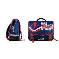 Cartable PARIS SG Cartable - 2 Compartiments - Primaire College - 41 cm - Bleu - Enfant Garcon