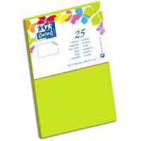 Carte - Carte De Visite 25 Cartes de visite - 12.8 cm x 8.2 cm x 0.8 cm - Vert