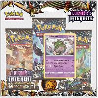 Carte A Collectionner - Accessoires POKEMON - Soleil et Lune 6 - Pack 3 Boosters SL06