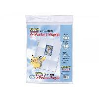Carte A Collectionner - Accessoires Paquet de 10 feuilles de classeur Pokemon