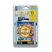 Carte A Collectionner - Accessoires RUGBY 2018 2019 Stickers - Blister de 6 pochettes