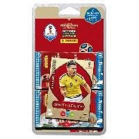 Carte A Collectionner - Accessoires WORLD CUP 2018 TCG - Blister 7 Pochettes TCG + Carte Edition Limitee