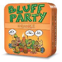 Carte De Jeu - Porte-carte De Jeu -cahier Range-carte De Jeu ASMODEE - Bluff Party - Pack Orange - Jeu de société
