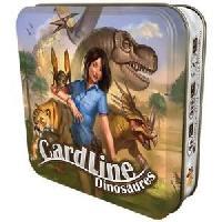 Carte De Jeu - Porte-carte De Jeu -cahier Range-carte De Jeu ASMODEE - Cardline Dinosaures - Mixte - A partir de 5 ans