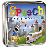 Carte De Jeu - Porte-carte De Jeu -cahier Range-carte De Jeu ASMODEE - Speech - Jeu de société - A partir de 8 ans