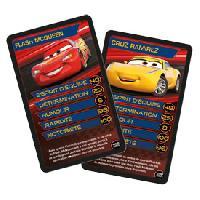 Carte De Jeu - Porte-carte De Jeu -cahier Range-carte De Jeu Jeu de bataille CAR'S 3 TOP TRUMPS - ADNAuto