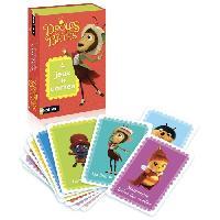 Carte De Jeu - Porte-carte De Jeu -cahier Range-carte De Jeu NATHAN - 4 Jeux de Cartes Drôles de Petites Betes - Jeu de Cartes - Diset