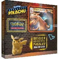 Carte De Jeu - Porte-carte De Jeu -cahier Range-carte De Jeu POKEMON - Film Détective Pikachu - Coffret DRACAUFEU GX - 6 boosters (60 cartes) - Aucune