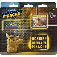 Carte De Jeu - Porte-carte De Jeu -cahier Range-carte De Jeu POKEMON - Pack Film Détective Pikachu - 3 boosters - Aucune