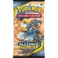 Carte De Jeu - Porte-carte De Jeu -cahier Range-carte De Jeu POKEMON Soleil et Lune 10 - Alliance infaillible - Booster SL10 - 10 cartes Pokémon - Modele aléatoire - Aucune