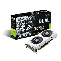 Carte Graphique Interne ASUS Carte graphique DUAL-GTX1060-O3G - NVIDIA - GeForce GTX - 3Go - GDDR5 - 192 bit