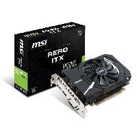 Carte Graphique Interne MSI Carte Graphique GeForce GTX 1050 TI AERO ITX 4G OCV1