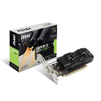 Carte Graphique Interne MSI Carte graphique GeForce GTX 1050 Ti 4GT LP - 4Go - GDDR5