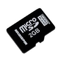 Carte Memoire - Memoire Flash Carte memoire industrielle Micro SD pSLC 2GB - temp.-4085